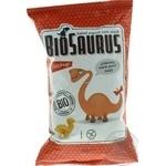 Снеки кукурузные Biosaurus органические с кетчупом 50г