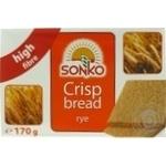 Хлебцы ржаные Sonko Легкие 170г