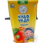 Сок Чудо-Чадо персиковый с сахаром и витамином С 0,125л
