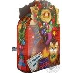 Новорічний набір кондитерських виробів Бісквіт-Шоколад Вечір біля каміну 550г