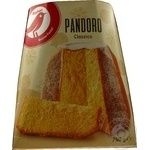Fruitcake Auchan Pandoro with butter 750g