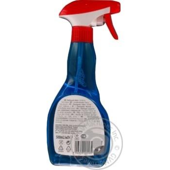 Средство Ашан для мытья окон и стеклянных поверхностей 500мл - купить, цены на Ашан - фото 2