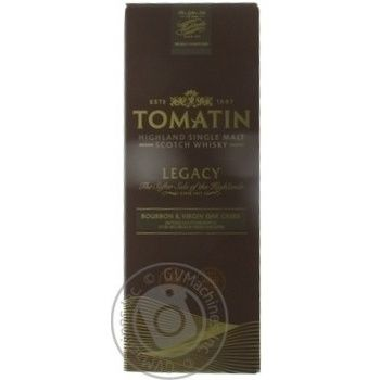 Tomatin Legacy Whiscey 43% 0,7l - buy, prices for CityMarket - photo 4