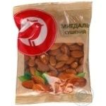 Nuts almond Auchan Auchan dried 150g