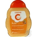 Shampoo Auchan Cosmia with apricot for hair