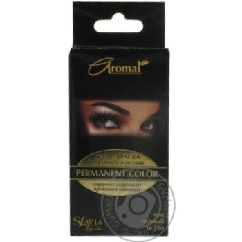 Крем-краска Аромат для бровей и ресниц черный цвет - купить, цены на Ашан - фото 1