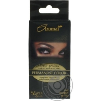 Крем-фарба Аромат для брів та вій колір граніт - купити, ціни на Ашан - фото 2