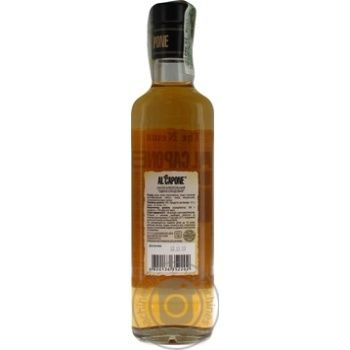 Al Capone Single Malt 40% Alcoholic Drink 0,5l - buy, prices for Furshet - image 2