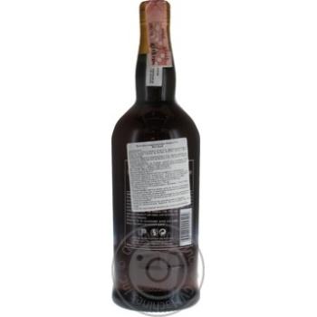 Est India Madeira Fine Dry біле солодке 19% 0.75л - купити, ціни на Ашан - фото 2