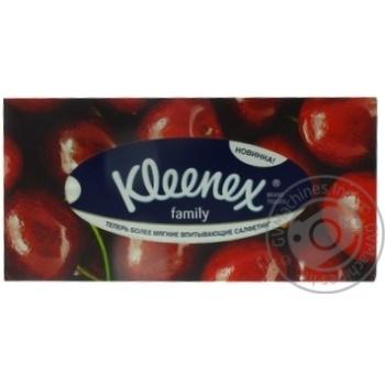 Салфетки Kleenex Family Boxes в коробке - купить, цены на МегаМаркет - фото 5