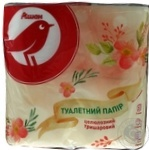 Toilet paper Auchan cellulose 4pcs