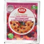 Axa with cream and wild berry quick-cooking oatmeal 40g