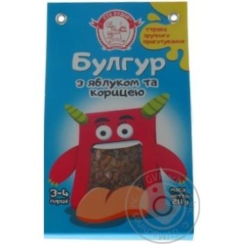 Булгур Сто пудов с яблоком и корицей 211г - купить, цены на Ашан - фото 4