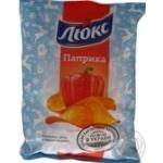 Potato chips Lux with paprika taste 133g