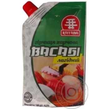 Горчица Katana Васаби мягкий д/п 180г