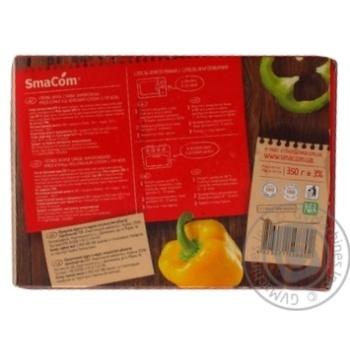 Мясо курицы SmаCom под красным соусом с гречкой замороженное 350г - купить, цены на Таврия В - фото 2