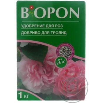Добриво для троянд Biopon 1кг