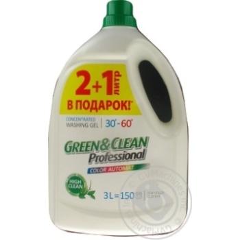 Gel Green&clean for washing 3000ml
