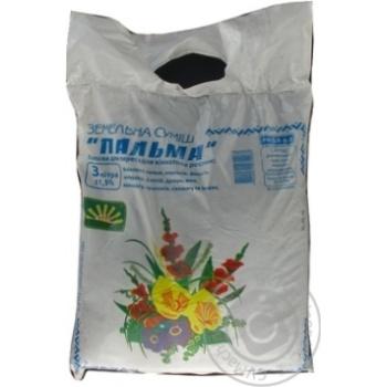 Смесь грунтов Пальма 3л - купить, цены на Ашан - фото 1