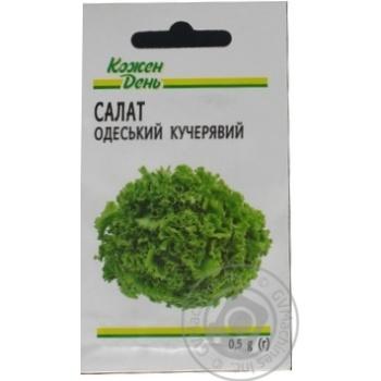 Семена Каждый День Салат Одесский кудрявый 0,5г - купить, цены на Ашан - фото 1