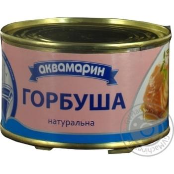 Горбуша Аквамарин натуральна 230г - купити, ціни на Novus - фото 7