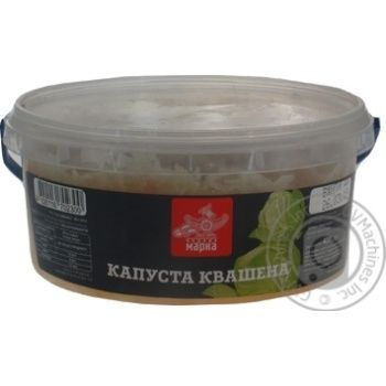 Vegetables cabbage Chudova marka pickled 400g