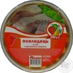 Auchan Herring Fillets In Oil With Paprika Flavour