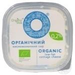 Творог Organic Milk нежирный 0.2% 300г