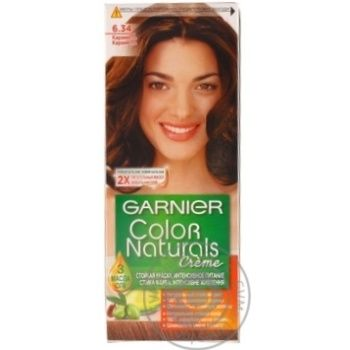 Фарба для волосся Garnier Color Naturals 6.34 Карамель