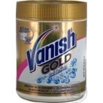 Пятновыводитель и отбеливатель порошкообразный для тканей Vanish Gold Oxi Action Кристальная белизна 470г