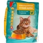 Auchan Dry With Chicken For Cats Food