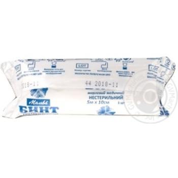 Бинт марлевий медичний нестерильний 5м*10см - купити, ціни на Ашан - фото 4