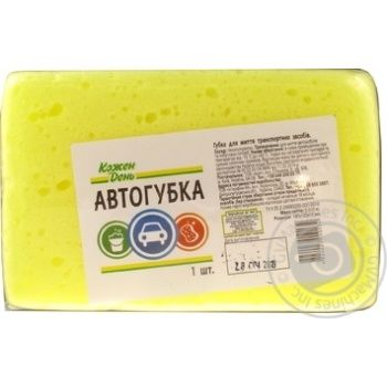 Kozhen Den Sponge For Washing Vehicle - buy, prices for Auchan - photo 4
