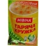 Суп гороховый Мивина Горячая кружка с беконом и гренками 19г
