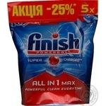 Tablet Finish All in 1 for the dishwasher 65pcs 1222g