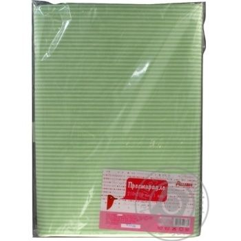 Auchan Green Bedsheet 210x200cm - buy, prices for Auchan - photo 3