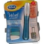 Электрическая пилка для ногтей Scholl Velvet Smooth Nail Care System