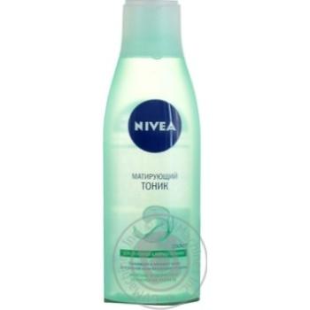 Тоник Nivea матирующий для лица для жирной кожи 200мл - купить, цены на Novus - фото 3