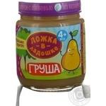 Puree Lozhka v kadoshke pear for children from 4 months 100g