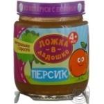 Puree Lozhka v kadoshke peach for children from 4 months 100g