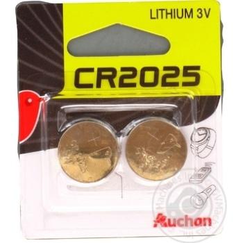 Auchan Alkaline Batteries CR2025 3V 2pc - buy, prices for Auchan - photo 4