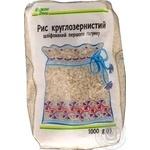 Рис Каждый день круглозерный шлифованный 1кг