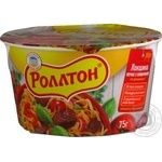 Pasta Rollton with beef ready-to-cook 75g