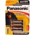 Батарейки Panasonic LR03 Alkaline Power ААА 4шт - купить, цены на Фуршет - фото 3