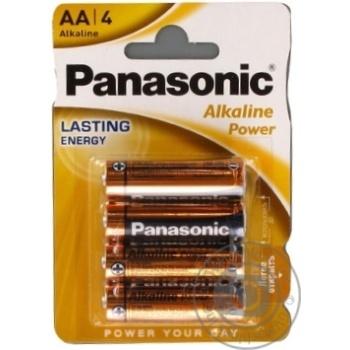 Panasonic Battery LR6 Alkaline Power AA 4pcs - buy, prices for EKO Market - photo 8