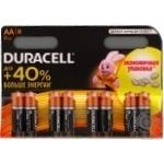 Батарейки Duracell AA 8шт