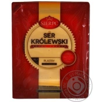 Сир Sierpc Королівський твердий порційний 45% 150г