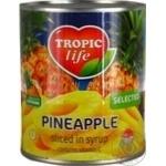 Ананас Tropic life кільця в сиропі 850мл - купити, ціни на Novus - фото 7
