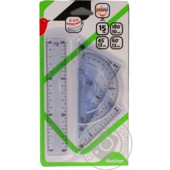 Set Auchan for drawing 4pcs mini - buy, prices for Auchan - image 5