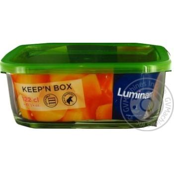 Скидка на Контейнер Luminarc Keep'n'box с крышкой 1,17л